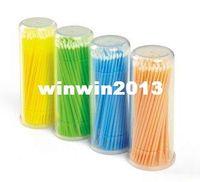 Wholesale Eyelash Extension Tool Individual Lash Glue Removing Tool Lint Free Microbrush pieces pack