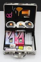 Wholesale 2013 New Professional High Quality False Eyelash Eye Lashes Extension Full Set Kits with Case