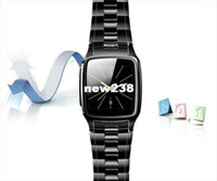 Wholesale 1 inch touch screen smart watch phone luxury business portable phone wrist watch quad band cell phone watch