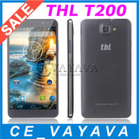 Wholesale Original THL Octa Core T200 MTK6592 GHZ GB RAM GB ROM Inch FHD IPS Screen Unlocked MP Camera NFC OTG G GPS