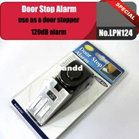 Wholesale No LPN124 dB Security Home Wedge Shaped Door Stop Alarm Block Systerm Gate Resistance