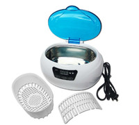 Wholesale Mini Digital Ultrasonic Cleaner For Coins Gem Diamond Jewelry Watch Dentures