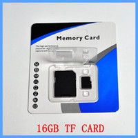 Wholesale Class GB GB C10 SDHC TF SD Memory Card With SD Adapter Blister Retail Package New Arrival