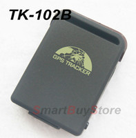 GPS Tracker SBS-TK102 12V Dropshipping! NEW TK102B Mini Global Car GPS Real Time Tracker 4 bands GSM GPRS Vehicle Tracking Device 850 900 1800 1900MHZ