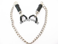 nipple clamps - New Hot BDSM Female Use Nipple Clips Nipple Clamps SM Games Bondage Gadgets Sex Products Adult Toys