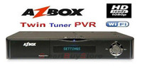 Wholesale azbox premium plus hd az box premium plus hd twin tunner decoder latest new in stock DHL