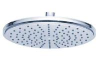 "Cheap Free shipping Bathroom 9"" Round Rain Overhead Shower Heads Solid Brass Thicken Chrome Finish 20007 Luxury[5 years warranty]"