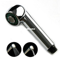 Wholesale Bathroom accessories abs chrome spray rainfall hand showers kitchen sinks and shower de82