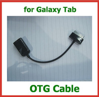 Wholesale 2pcs Pin to Female USB Adapter OTG Cable for Samsung Galaxy Tab P7510 P7500 P5100 P5110 N8000 N8010 P3100 P3110