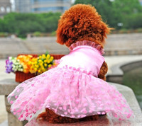 apparel for dogs - Dog Apparel Cute Ball Gown Dress for Dog Pet White Pink