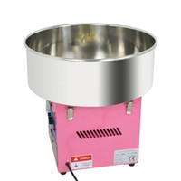 Wholesale Hot Selling Electric Cotton Candy Maker Pink Carnival Commercial Floss Machine Party PINK COLOR