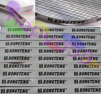 Wholesale 12pcs free ship badminton racket frame protector tennis badminton racquet protector film badminton accessories