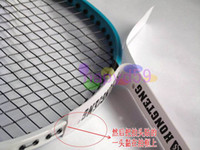 Wholesale 1pcs new free ship badminton racket frame protector tennis badminton racquet protector film badminton accessories