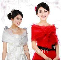 Wholesale Fairytale Type New Style Bridal Tulle Organza Sleeveless Wrap Cape Shawl Jackets coat wrap tippet Jacket Bridal Accessory