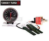 Wholesale Tansky APEXI MM OIL PRESSURE GAUGE ELECTTRO LUMINESCENT black Original color box TK AP60003 B