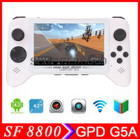 Wholesale ANDROID GamePad GPD G5A RK3188 GHz quot Android Quad Core tablet PC Capacitive Touch Screen GB GB Tablet PC APK D games