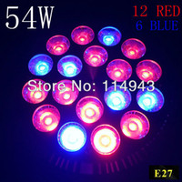 Wholesale Led induction grow light w E27 red Blue Non Dimmable spot light bulb lamp for flowering plant Home lighting