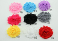 Mixed colors 50pcs Kid's Shabby Lace Flower Baby Girl's Hair...