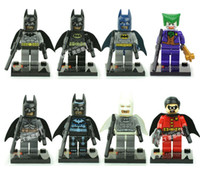 Wholesale Batman Series Figures Robin Joker Building Block Sets Legoland Minifigures Educational DIY Bricks Toys For Children
