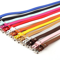 Wholesale Brand NEW Fashion Skinny Waistband Strap Thin Adjustable Belt for Girls Candy Colors mm