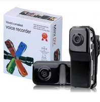Wholesale High Quality High Resolution Mini DV DVR Sports Video Record Camera MD80 Camcorder Smallest Voice Recorder