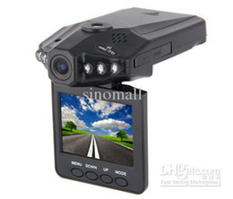 Wholesale Top selling Car DVR recorder camera system car Dash camera black box H198 night version Car Video Recorder Camer