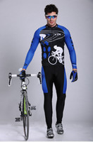 Wholesale 2014 storm Men s Long sleeved Riding Clothes Suit Quick Dry Perfect Perspiration Breathable Cycling Jersey Sets amp