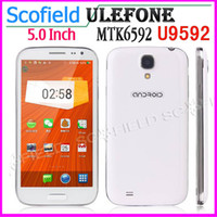 Ulefone 5.0 Android Ulefone U9592 S4 I9500 5.0 Inch MTK6592 Octa core Android Cell Phone 1GB RAM 8GB ROM 8.0MP Android 4.2