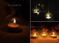 Wholesale Free EMS Shipping candle holders candle lanterns Hanging Bubble Candle Holders for weddings home decorations