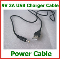 Wholesale 9V A USB Cable Lead Charger to DC mm Cord for TabletTablet PC Chuwi V3 Aoson M11 M19 Pipo M2 M3 M6 M8 M8 G SmartQ T30 DC Power Cable