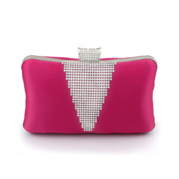 Wholesale High Qaulity Candy Color Bridal Hand Bags Wedding Evening Hand Bags Party Hand Bags