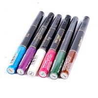 Wholesale Matte Eyeshadow Eye Shadow pigment Stick colors In1 Eyeliner Waterproof Long Lasting Eyeshadow Pencil Emerald Micre M2027