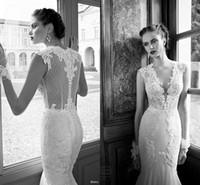 Cheap Trumpet/Mermaid wedding dresses Best Reference Images V-Neck Mermaid wedding dresses