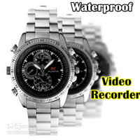 Wholesale 8GB Mini Spy Watch Video Recorder Hidden Camera DVR HD Waterproof Camcorder pc