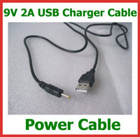 Wholesale 500pcs V A USB Cable Lead Charger to DC mm Cord for TabletTablet PC Chuwi V3 Aoson M11 M19 Pipo M2 M3 M6 M8 SmartQ T30 DC Power Cable