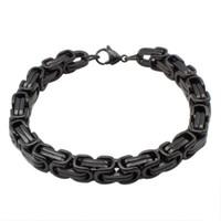 Charm Bracelets bangle braclets - men s jewelry black braclets amp bangles stainless steel chains bracelet color for choose BR