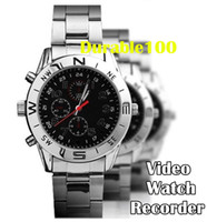 Wholesale Mini Spy Watch GB Video Recorder Hidden Camera DVR HD Camcorder USB CABLE pc