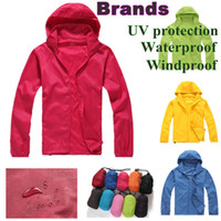 Men jacket - 14 colours size Outdoor coat For Women Men Waterproof basic jackets Climbing Skiing Skin jacket Waterproof Windproof Sports Jacket