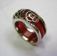 chinese jade jewelry - Chinese Jewelry Inlay Red Jade Men s Ring