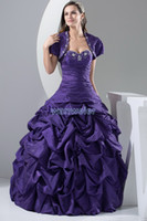 Cheap 2014 new design hot short sleeve custom size bridal gown sweetheart plus size embroidery with jacket prom dress