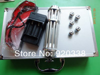 No air china safety - High Power Blue Laser Pointer nm Burn Cigarette metal Box safety glasses BY CHINA POST AIR