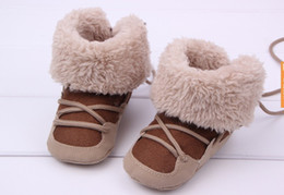 Wholesale 2014 new winter baby toddler baby shoes cotton boots warm snow boots