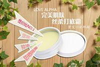Wholesale New arrival LOVE ALPHA Concealer Miss Perfect Pores Hide Primer Powder perfect skin silky base cream Concealer shills ce