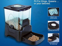 Wholesale 10 L Large Automatic Timer Dog Cat Pet Feeder Dry Food Portion Control Built in clock