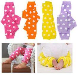 Toddler Baby round dot Baby's leg warmer cotton leg warmer w polka dot baby & toddler leg warmers