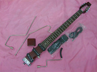 Wholesale latest Ministar Korea Travel Mini Electric Guitar To send packets and other accessories