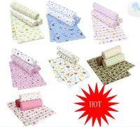 Wholesale 4 pack baby cotton flannel blankets sleeping Sheets bags Blanket baby sleep sleeping baby blanket