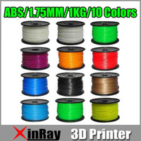 ABS 1.75mm 1kg 1.75mm ABS Filament 1kg 2.2lb 3D Printers Reprap, 3D Print Maker Freeshipping