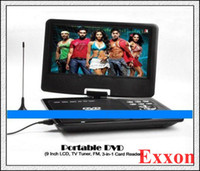 Wholesale Best Portable DVD with Inch LCD TV Tuner FM in Card Reader Christmas gift