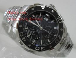 Wholesale Luxury AAA Top Quality Brand Mens Watch Wristwatch Aquaracer CA12110 Calibre Swiss Eta Automatic Chronograph Men s Watches